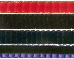 Pleated Velvet Ribbon