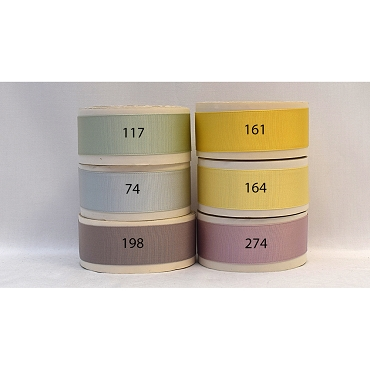 1-1/4 (25mm) Acetate Rayon Woven Edge Grosgrain Ribbon