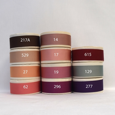 1-1/4 (25mm) Acetate Woven Edge Grosgrain Ribbon