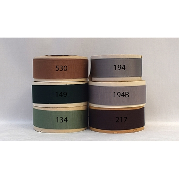 1-1/4 (32mm) Rayon Woven Edge Grosgrain Ribbon