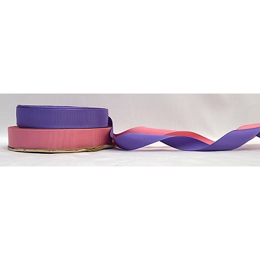 1 inch (25mm) Cotton Rayon Woven Edge Grosgrain Ribbon