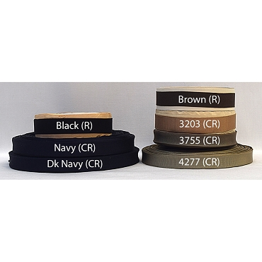 5/8 (16mm) Woven Edge Grosgrain Ribbon