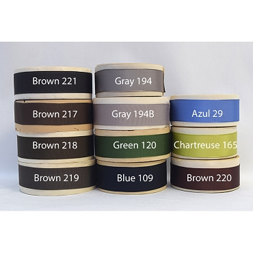 1 inch (25mm) Rayon Woven Edge Grosgrain Ribbon