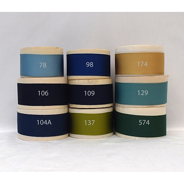 1-1/2 (38mm) Woven Edge Grosgrain Ribbon