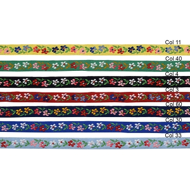 1/2 (13 mm) Floral Jacquard Ribbon 3029