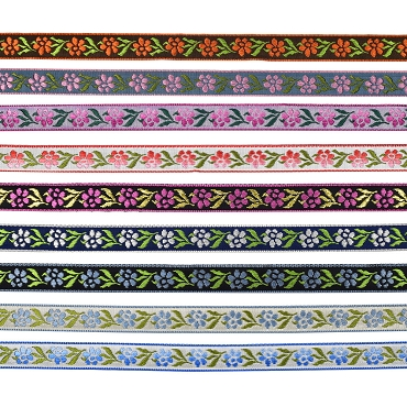 1/2 (13 mm) Floral Jacquard Ribbon 3231