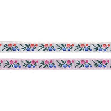 1/2 (13 mm) Floral Jacquard Ribbon 3237