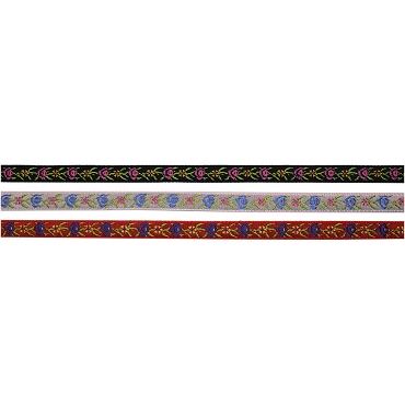 5/16 (8mm) Floral Jacquard Trim 3260