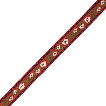 5/8 (16 mm) Floral Jacquard Ribbon 1014