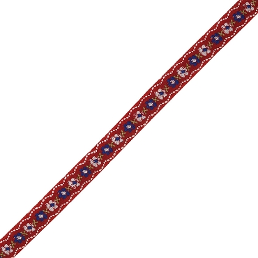 1/2 (13 mm) Floral Jacquard Ribbon 3110