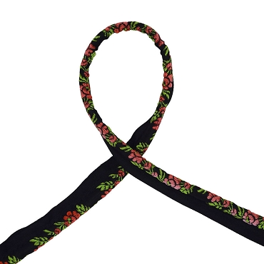 5/16 (8 mm) Floral Jacquard Piping 3229T