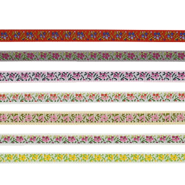 3/8 (13mm)  Swiss Novelty Jacquard Trim 3234
