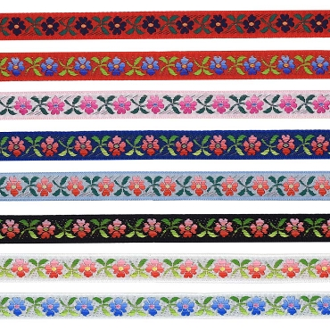 1/2 (13 mm) Floral Jacquard Ribbon 3239