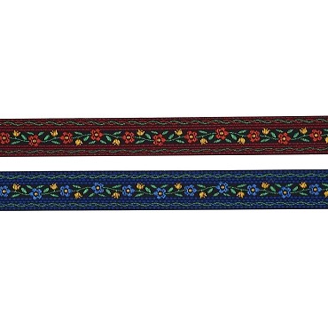 5/8 (16mm) Floral Jacquard Trim 3440