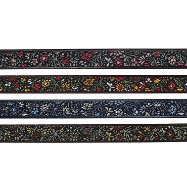 5/8 (16 mm) Floral Jacquard Ribbon 3902