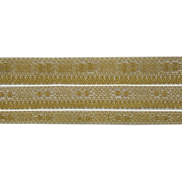 Choose French Metallic Lame Crochet Lace Trim 4180