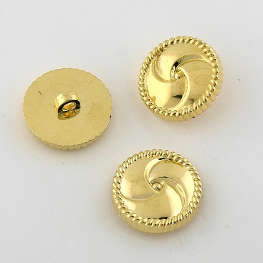 40L (25.5mm) Whirlpool Gold Metal Button