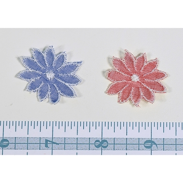 Vintage Small Swiss Daisy Applique (3)