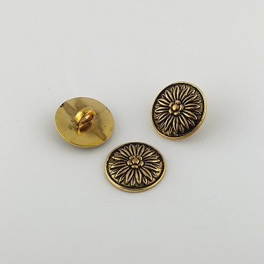 30L (19mm) Bronze Novelty Metal Button