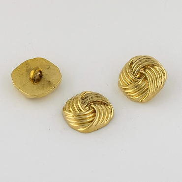 36L (23mm) Gold Metal Button
