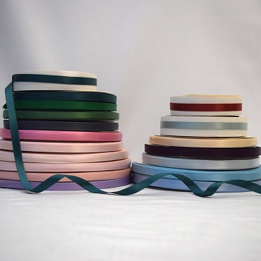 3/8 inch  (9.5mm) Double Face Satin Ribbon
