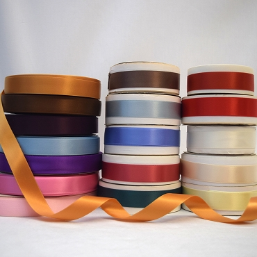 7/8 inch  (22mm) Double Face Satin Ribbon