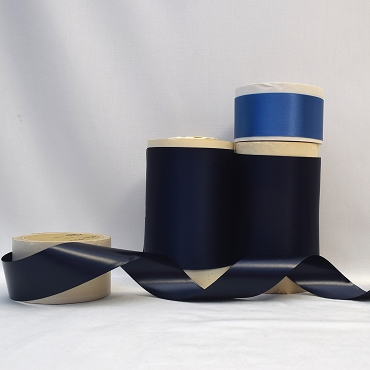 Rayon Double Faced Satin Ribbon (Blue)