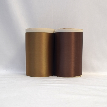 Rayon Double Faced Satin Ribbon (Brown B)