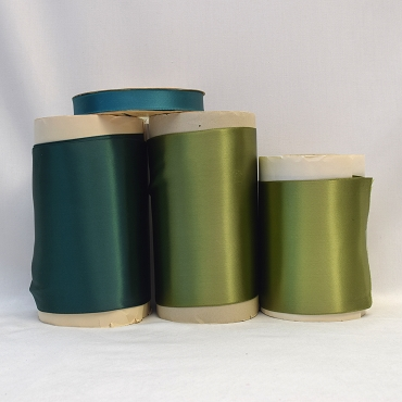 Rayon Double Faced Satin Ribbon (Green)