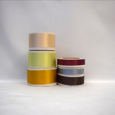 Acetate Rayon Blend Double Face Satin Ribbon