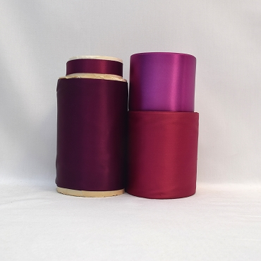 Rayon Double Faced Satin Ribbon (Purple)
