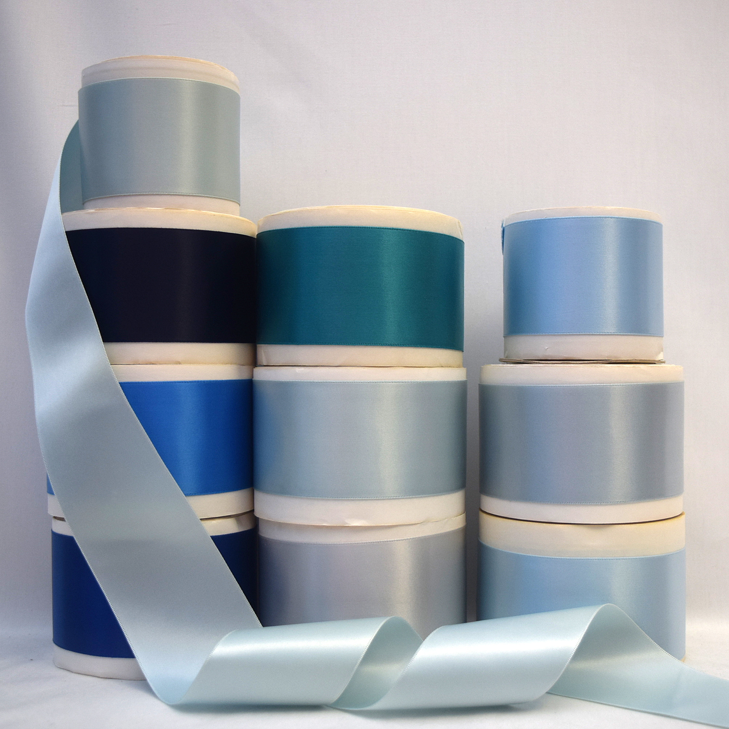 2-1/4  (57mm) Double Face Satin Ribbon