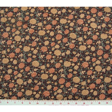 Allover Flowers Polyester Fabric 297
