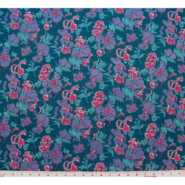 Jacquard Petito Floral Polyester Fabric 449