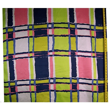 Retro Italian Silk Crepe de Chine Fabric