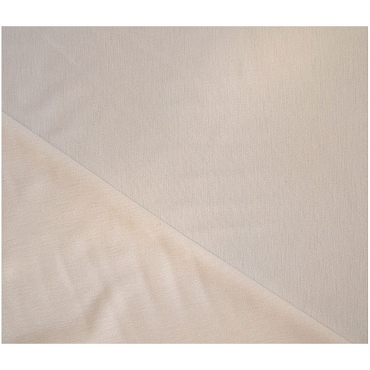 Landau Winter White Jasco Knit Wool Fabric