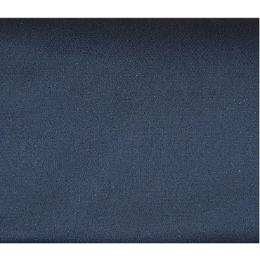Dark Navy Blue Melton Wool Blend Fabric