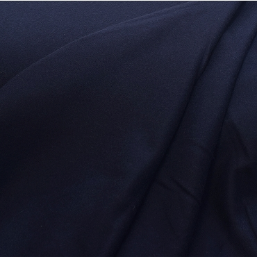 Dark Navy Camel Hair Fabric