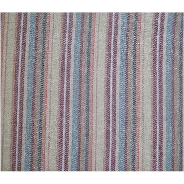 Herringbone Stripe Wool Fabric