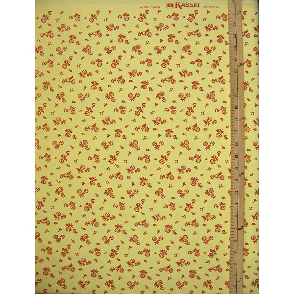 Vintage Aston Down Petite Flower Fabric
